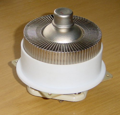 The 8887 valve, base and chimney assembled