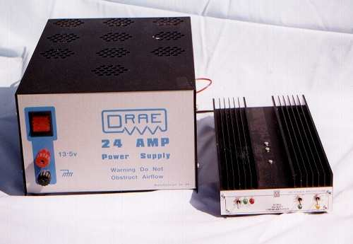 The Microwave Modules PA and DRAE psu destined for Egypt.